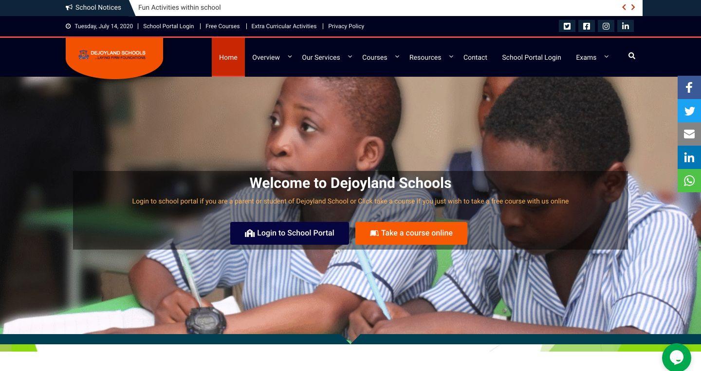 DEJOYLAND SCHOOL